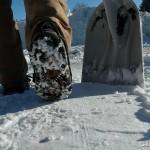 Yaktrax Pro in Snow