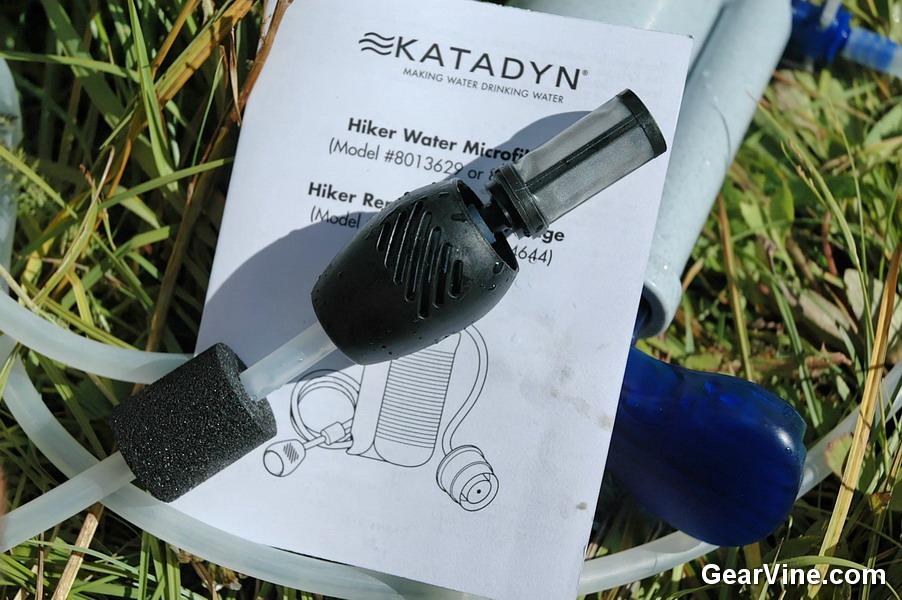 Katadyn hiker pro water filter for Sweetwater affiliate program